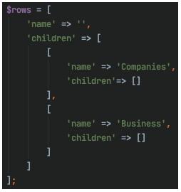 Custom serializer json format