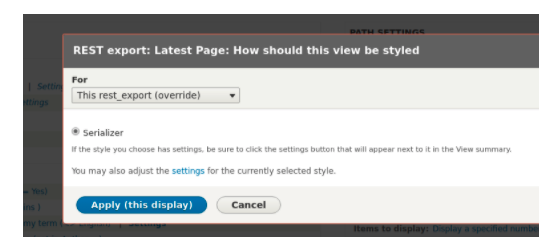 Drupal Views Serializer